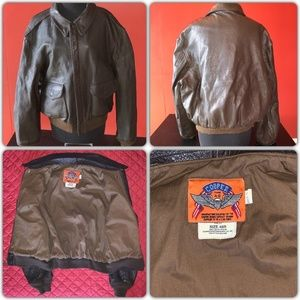 SOLD! Cooper Type A2 Leather Flight Jacket 48L